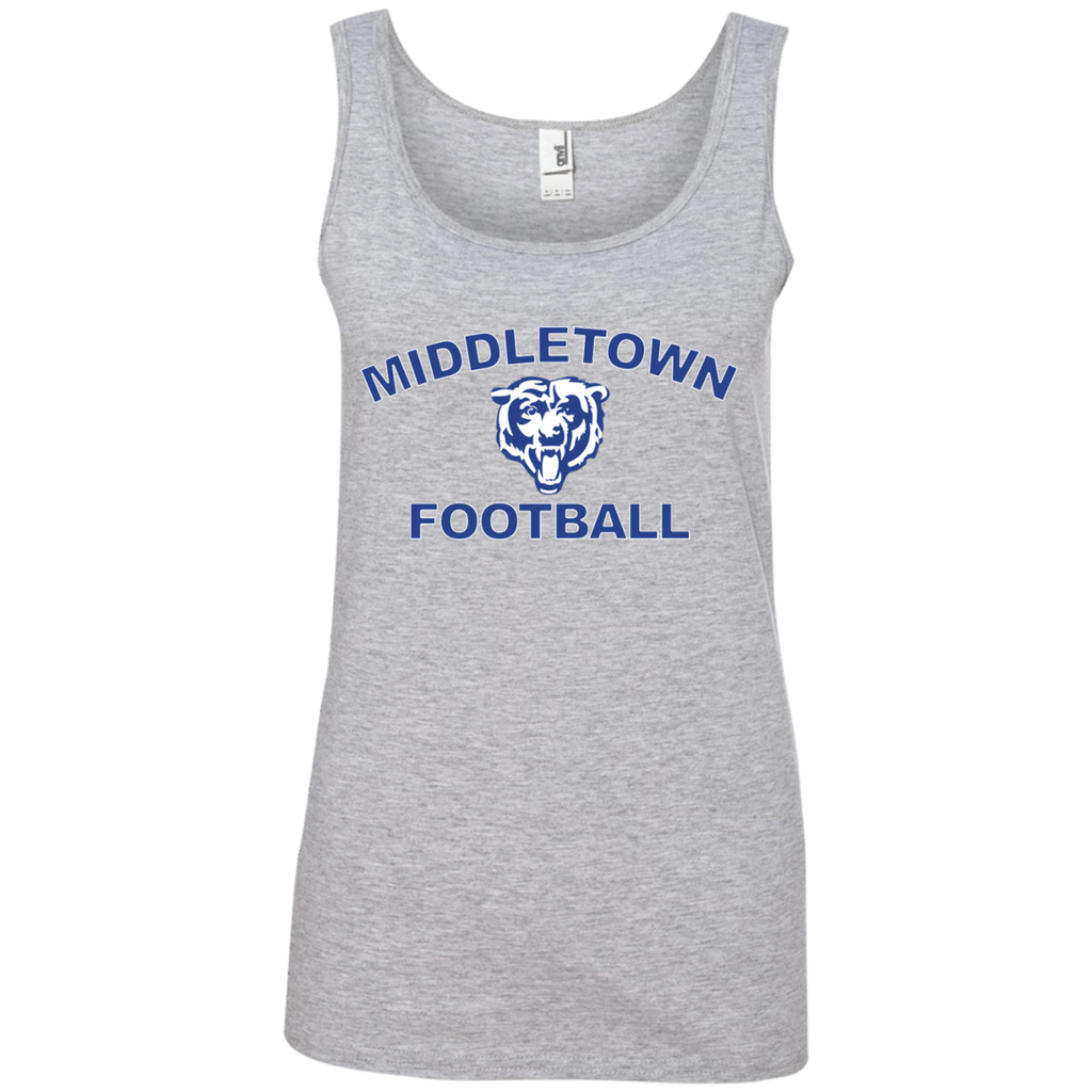 Women's Tank Top - Middletown Football