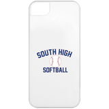 iPhone 5 Case - South Glens Falls Softball