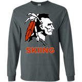 Men's Long Sleeve T-Shirt - Cambridge Skiing - Indian Logo