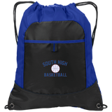 Drawstring Bag with Pocket - South Glens Falls Basketball