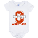 Baby Onesie 6 Month - Cambridge Wrestling - C Logo