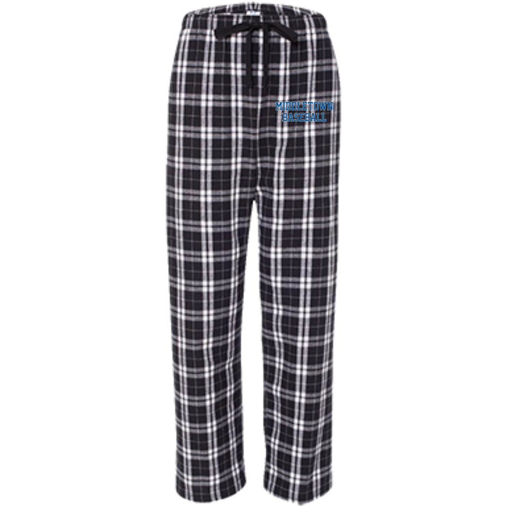 Youth Flannel Pants - Middletown Baseball