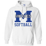 Men's Hooded Sweatshirt - Middletown Softball