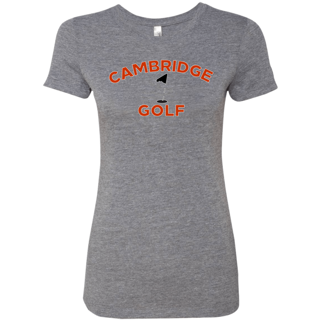 Women's Premium T-Shirt - Cambridge Golf