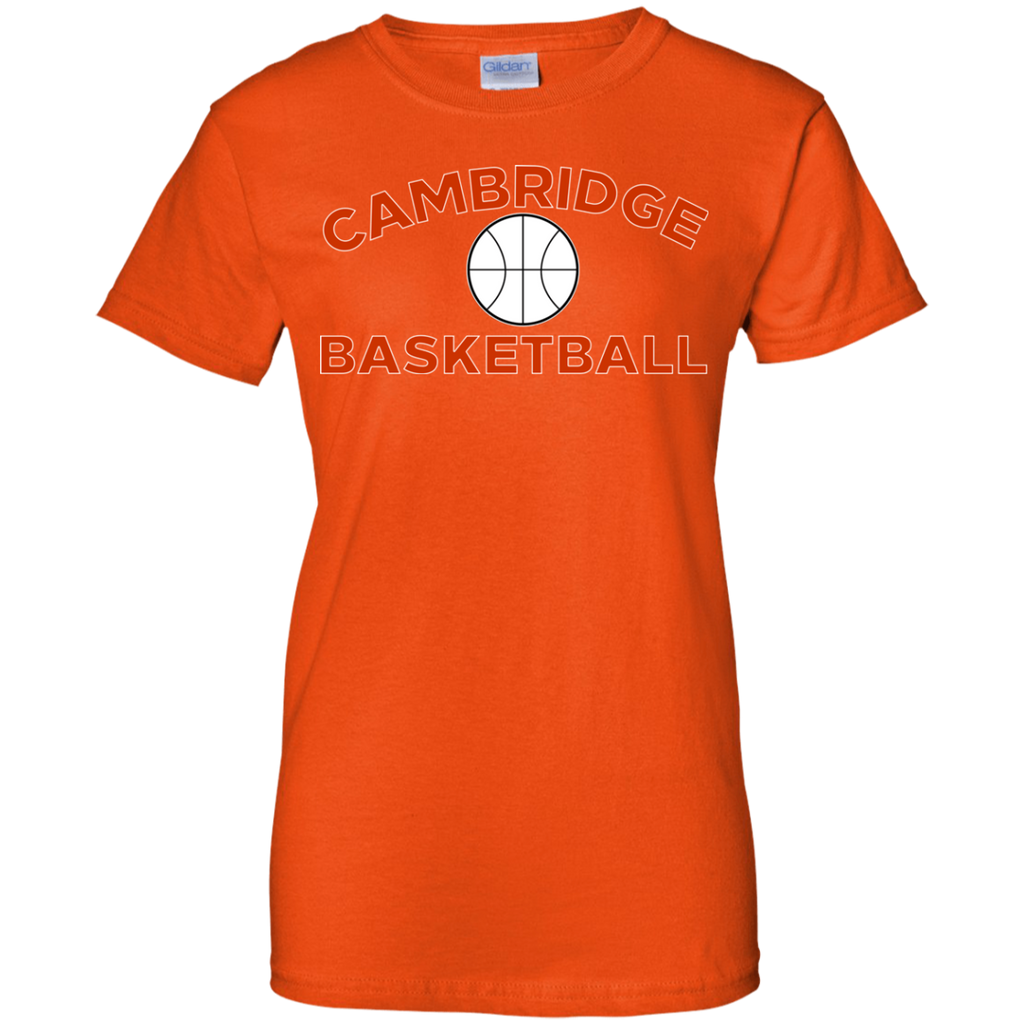 Women's Cotton T-Shirt - Cambridge Basketball