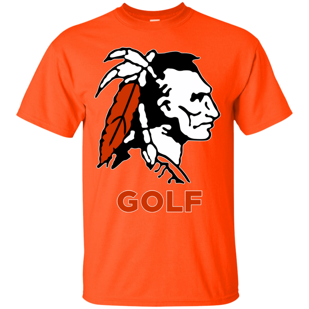 Men's Cotton T-Shirt - Cambridge Golf - Indian Logo