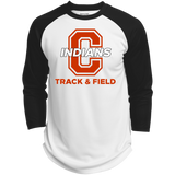 3/4 Sleeve Baseball T-Shirt - Cambridge Track & Field - C Logo
