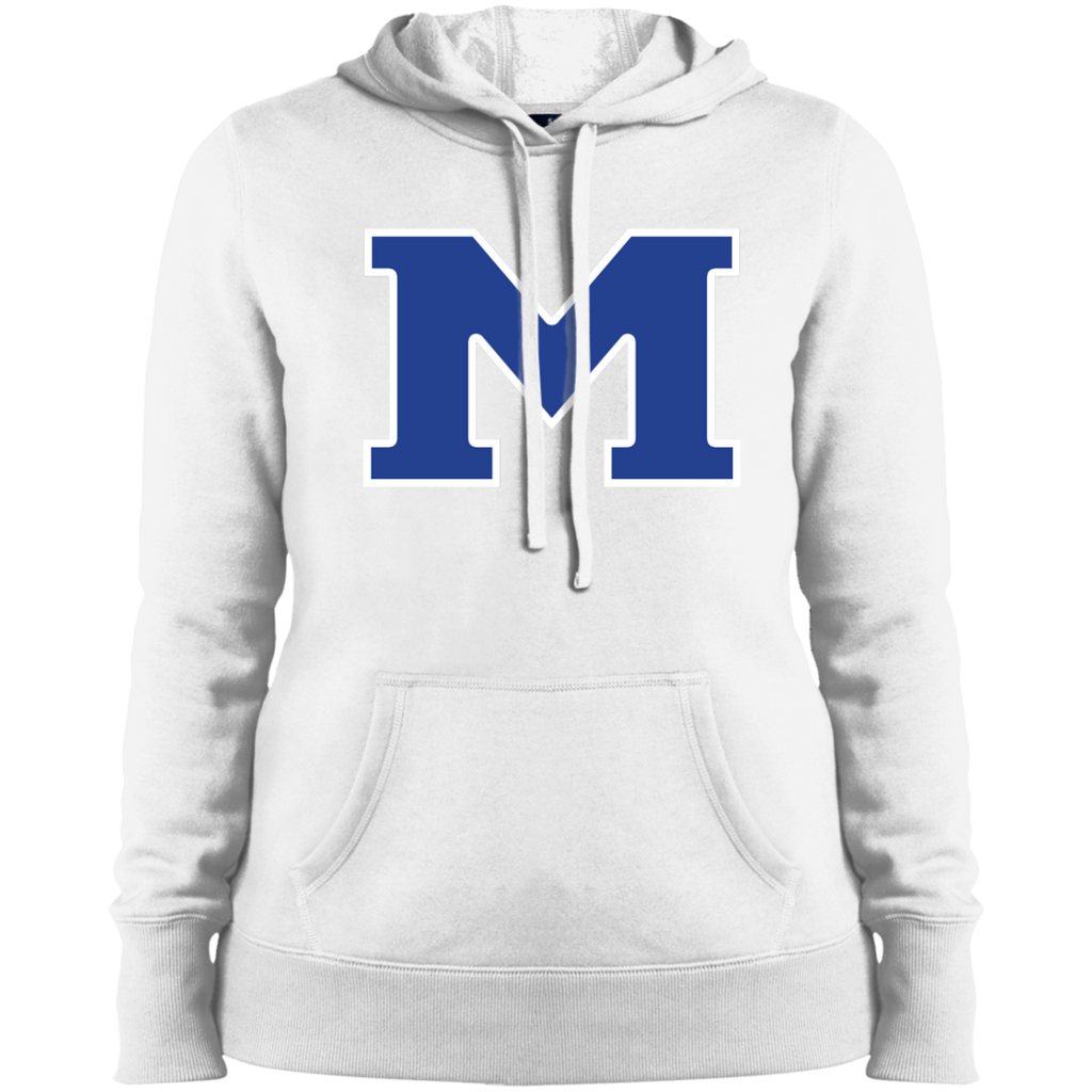 "Women's Hooded Sweatshirt - Middletown Block ""M"""