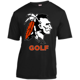 Youth Moisture Wicking T-Shirt - Cambridge Golf - Indian Logo