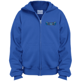 Youth Full-Zip Hooded Sweatshirt - Middletown Unified Basketball