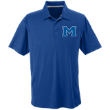 Men's Solid Moisture Wicking Polo - Middletown Block
