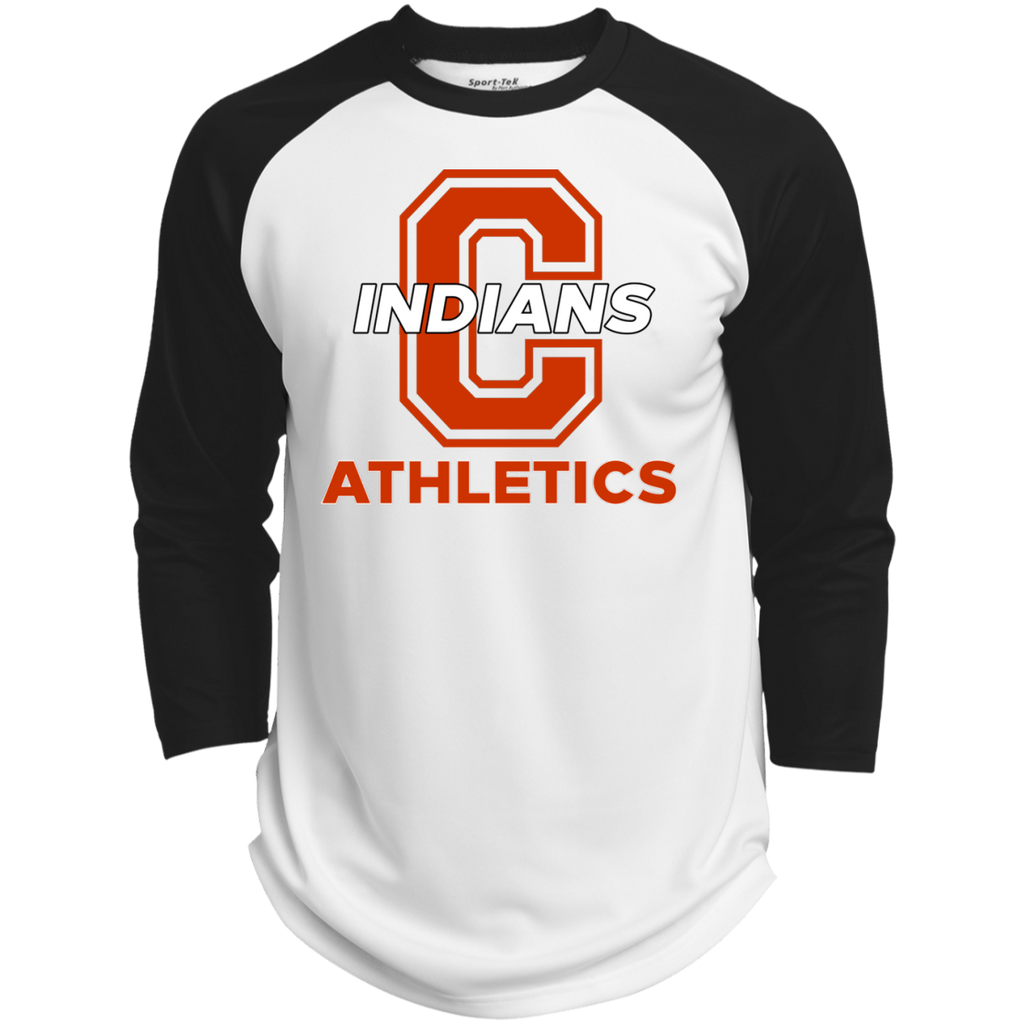 3/4 Sleeve Baseball T-Shirt - Cambridge Athletics - C Logo