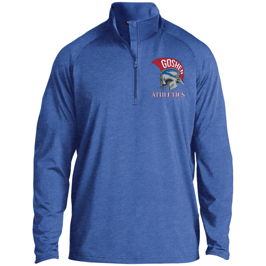Men's Performance Quarter Zip Sweatshirt - Goshen Athletics