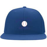 Flex Fit Twill Hat w/ Flat Bill - South Glens Falls Softball