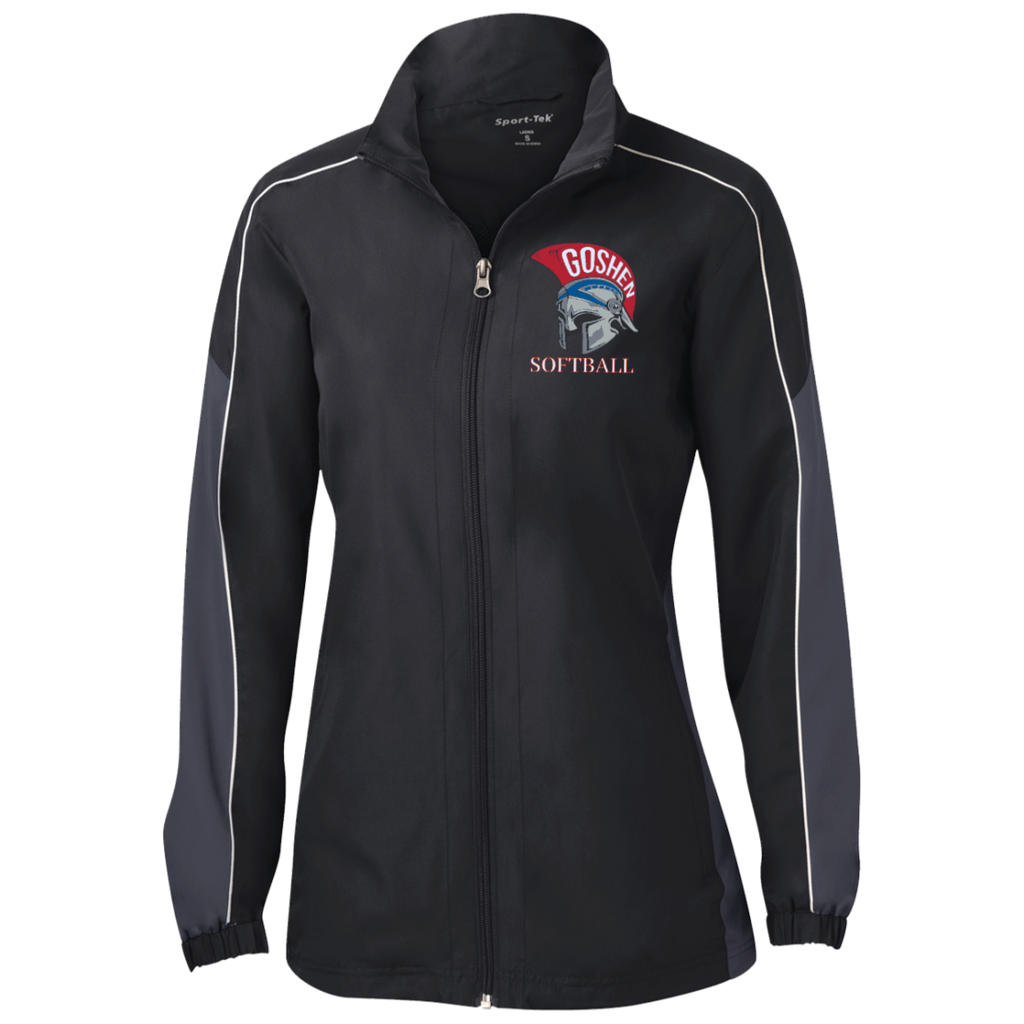 Women's Colorblock Windbreaker - Goshen Softball