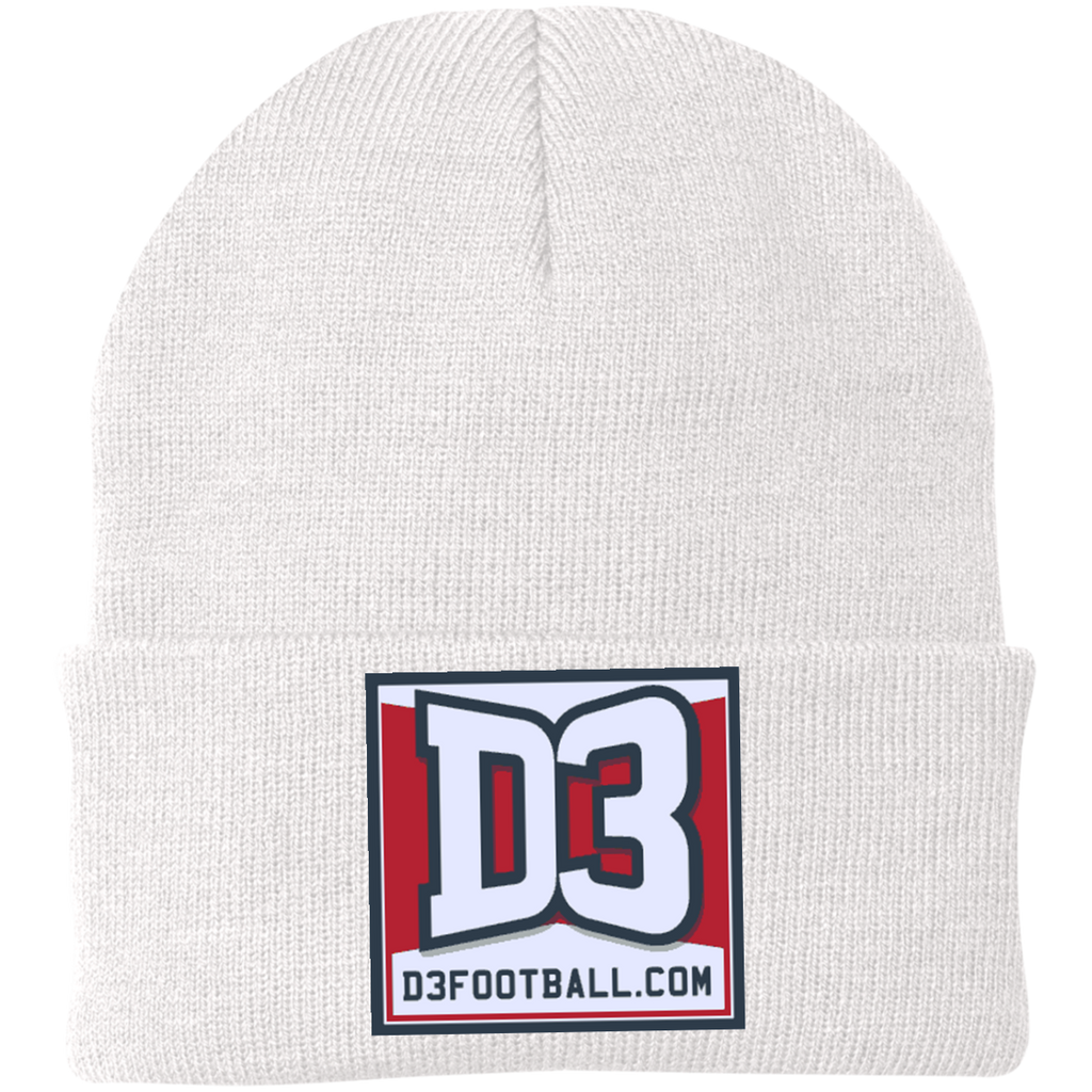 Knit Winter Hat - D3Football.com