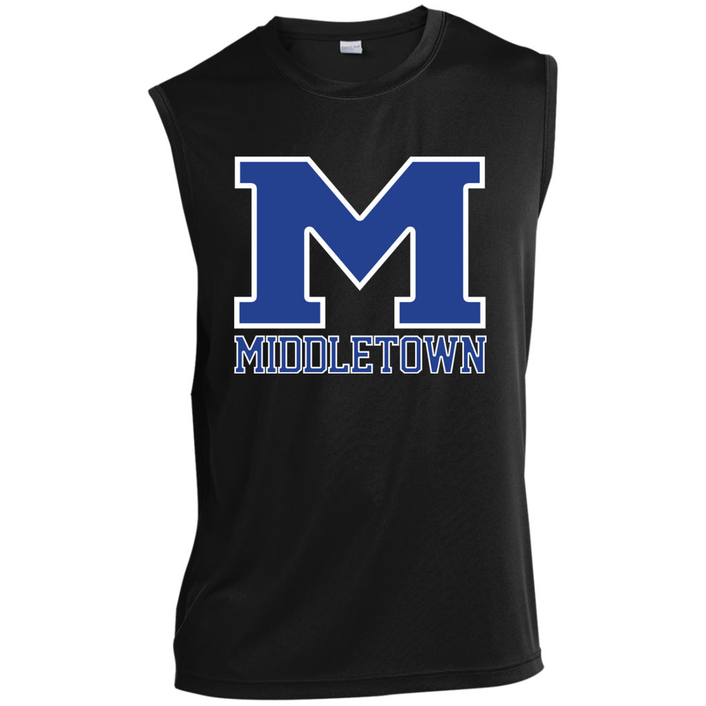 "Sleeveless Performance T-Shirt - Middletown ""M"""
