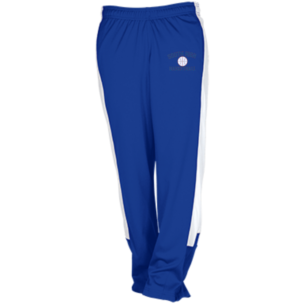 Basketball Vector Logo Outline_Pantone TT44 Team 365 Performance Colorblock Pants
