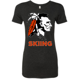 Women's Premium T-Shirt - Cambridge Skiing - Indian Logo