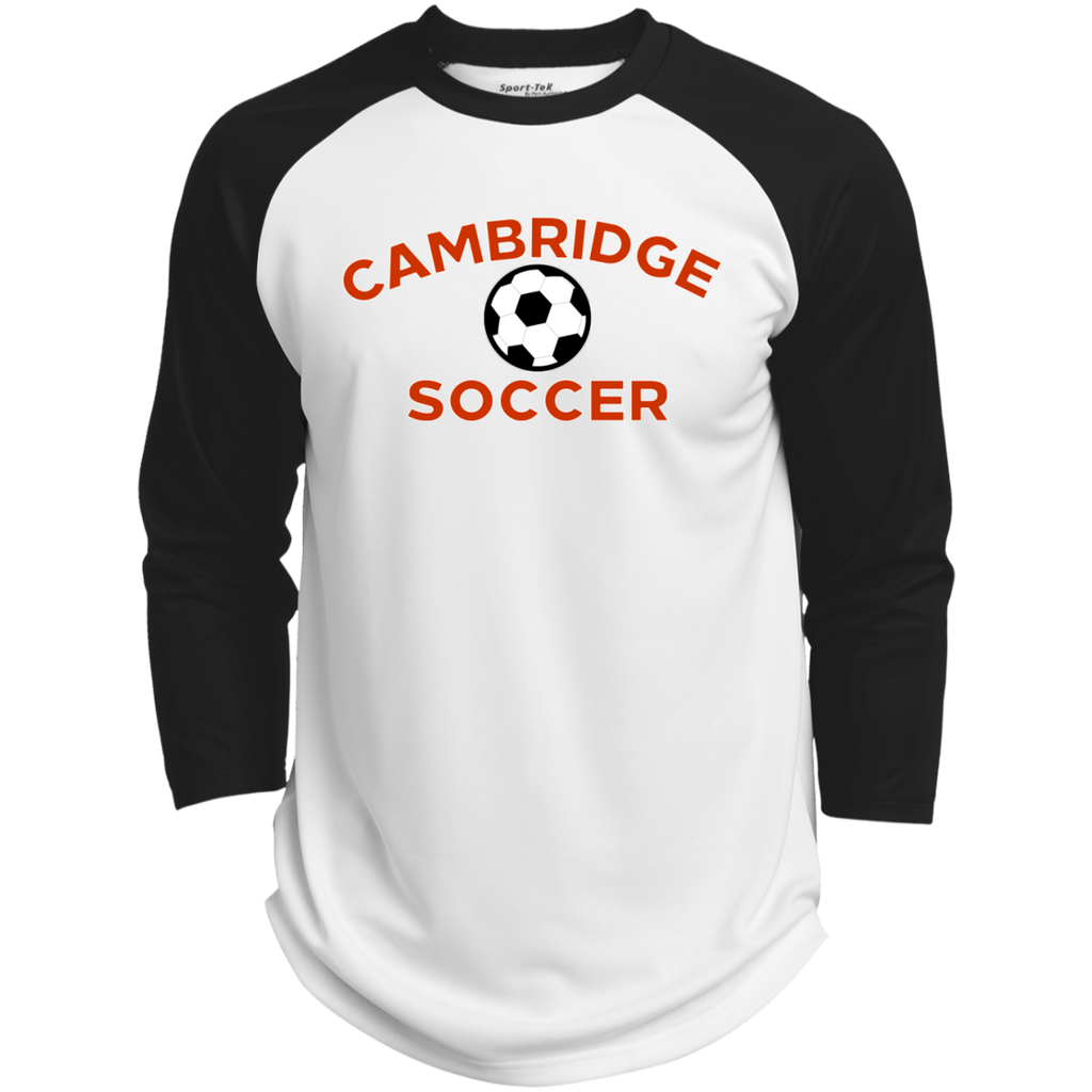 3/4 Sleeve Baseball T-Shirt - Cambridge Soccer