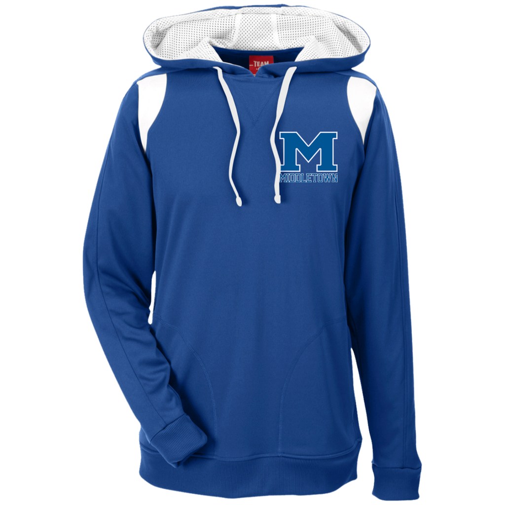 "Men's Colorblock Hooded Sweatshirt - Middletown ""M"""