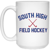 15 oz. Coffee Mug - South Glens Falls Field Hockey