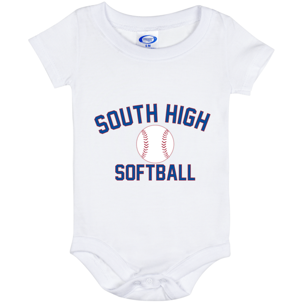 Baby Onesie 6 Month - South Glens Falls Softball