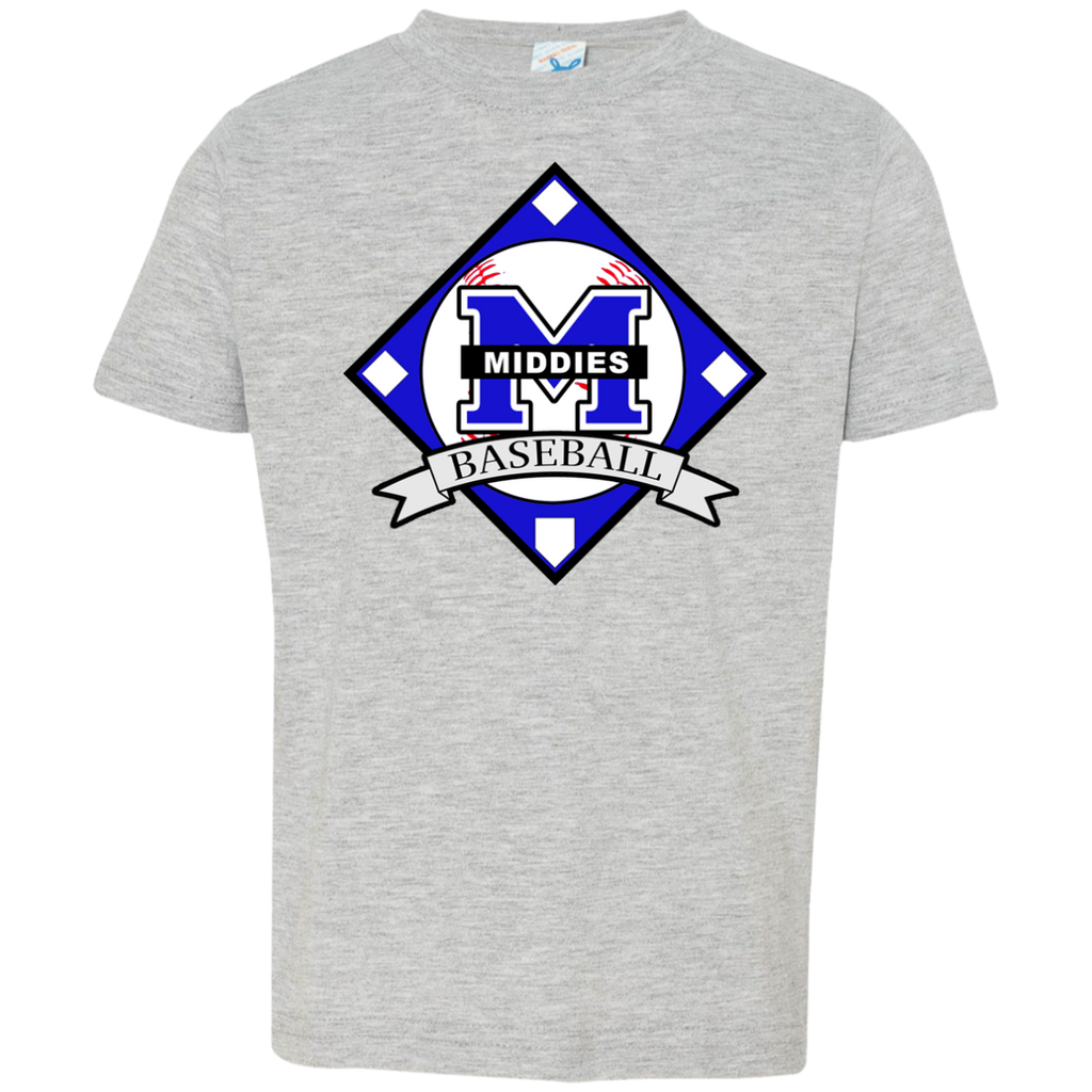Toddler T-Shirt - Middletown Baseball - Diamond Logo