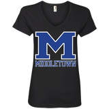 Women's V-Neck T-Shirt - Middletown