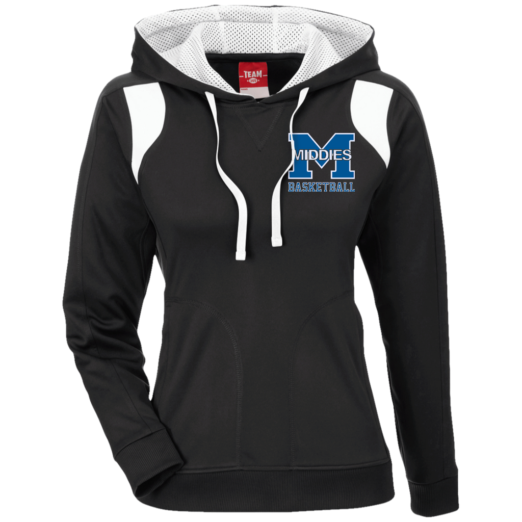 Women's Colorblock Hooded Sweatshirt - Middletown Girls Basketball