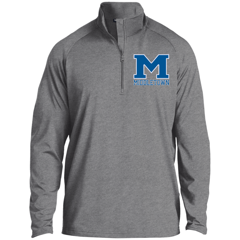 "Men's Performance Quarter Zip Sweatshirt - Middletown ""M"""