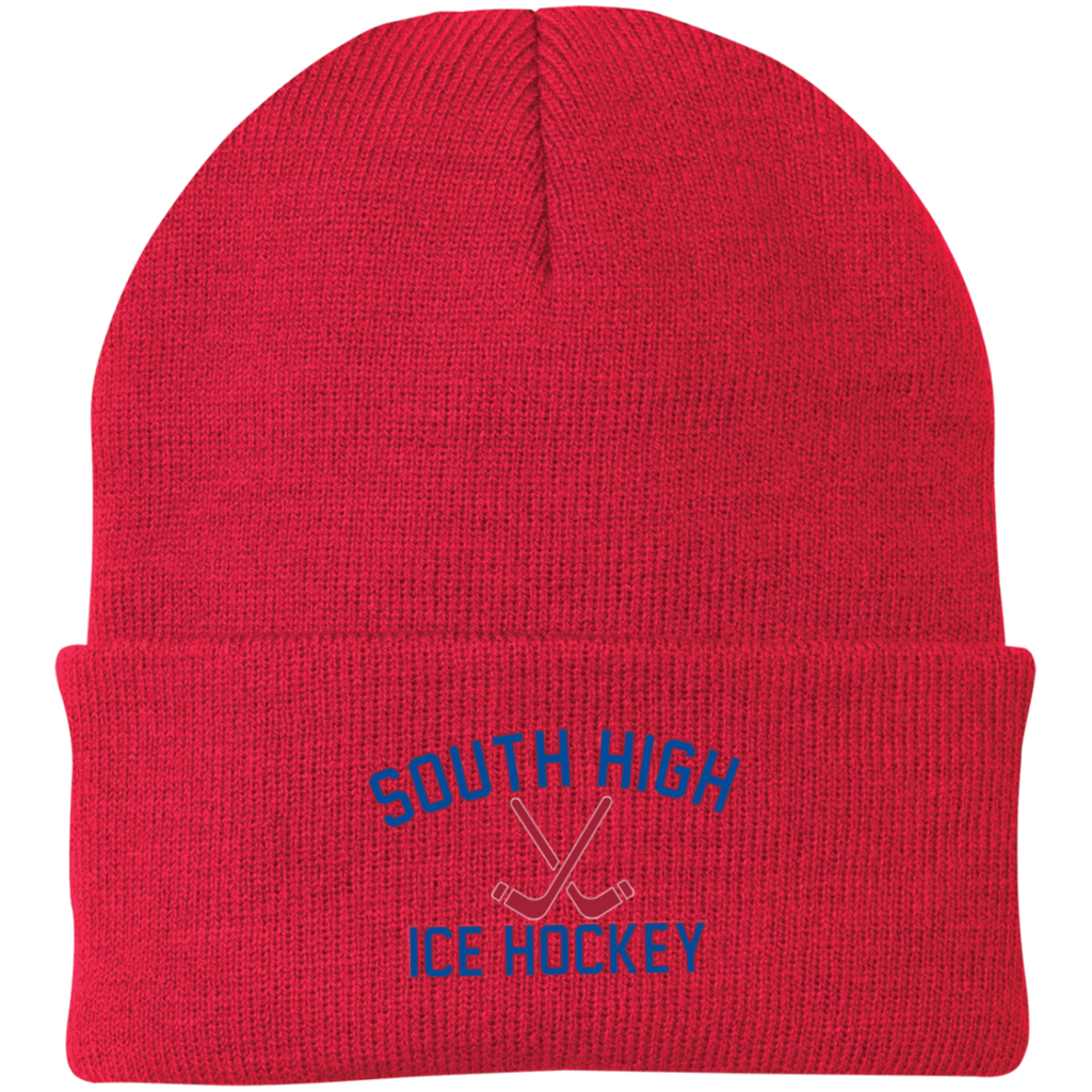 Knit Winter Hat - South Glens Falls Ice Hockey
