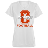 Women's Moisture Wicking T-Shirt - Cambridge Football - C Logo