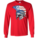 Men's Long Sleeve T-Shirt - Goshen American Flag