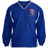 Youth Colorblock V-Neck Pullover - Goshen Athletics