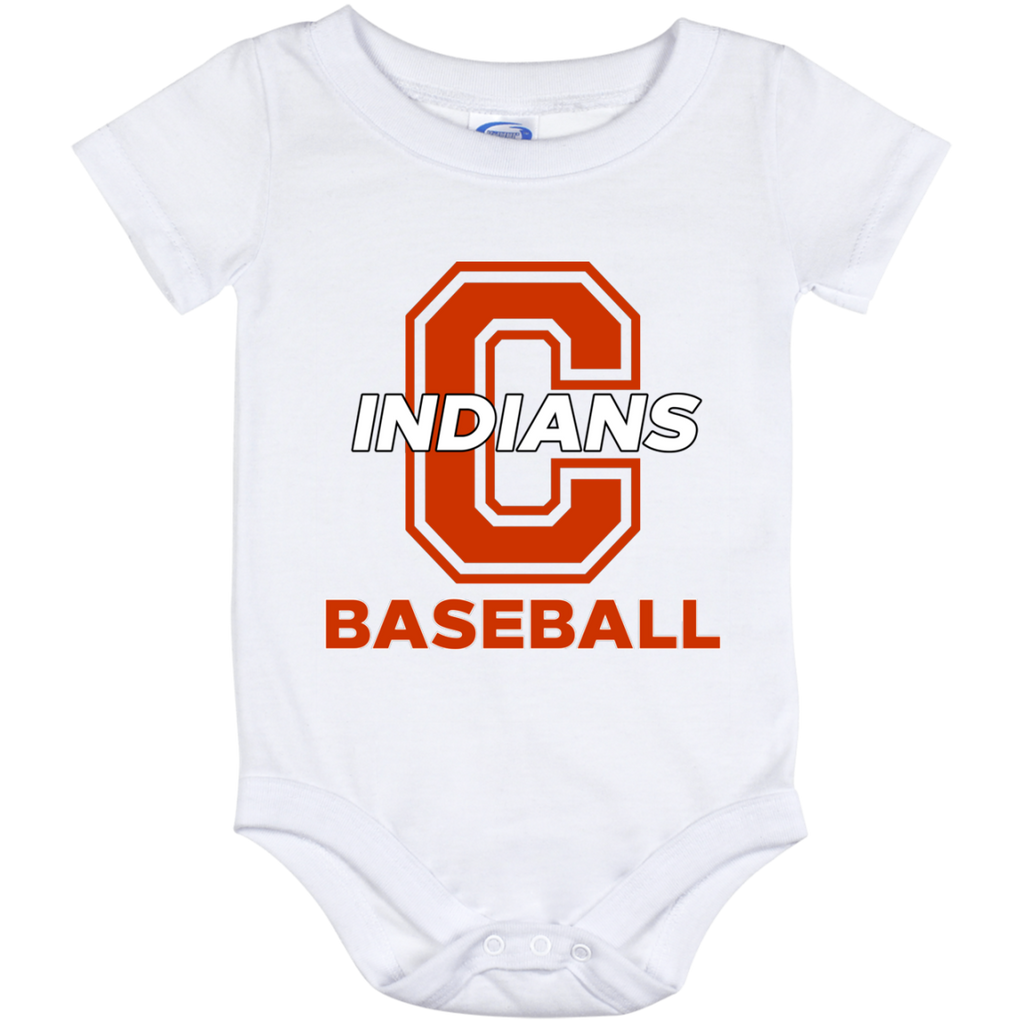 Baby Onesie 12 Month - Cambridge Baseball - C Logo