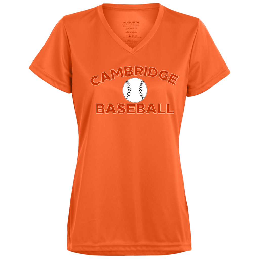 Women's Moisture Wicking T-Shirt - Cambridge Baseball