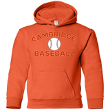Youth Hooded Sweatshirt - Cambridge Baseball