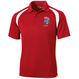 Men's Colorblock Slim Fit Moisture Wicking Polo - Goshen Golf