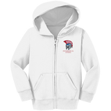 Toddler Full-Zip Hooded Sweatshirt - Goshen Swimming & Diving