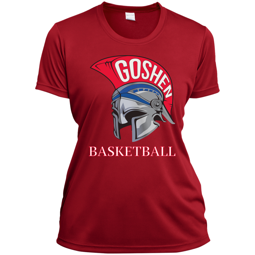 Women's Moisture Wicking T-Shirt - Goshen Basketball