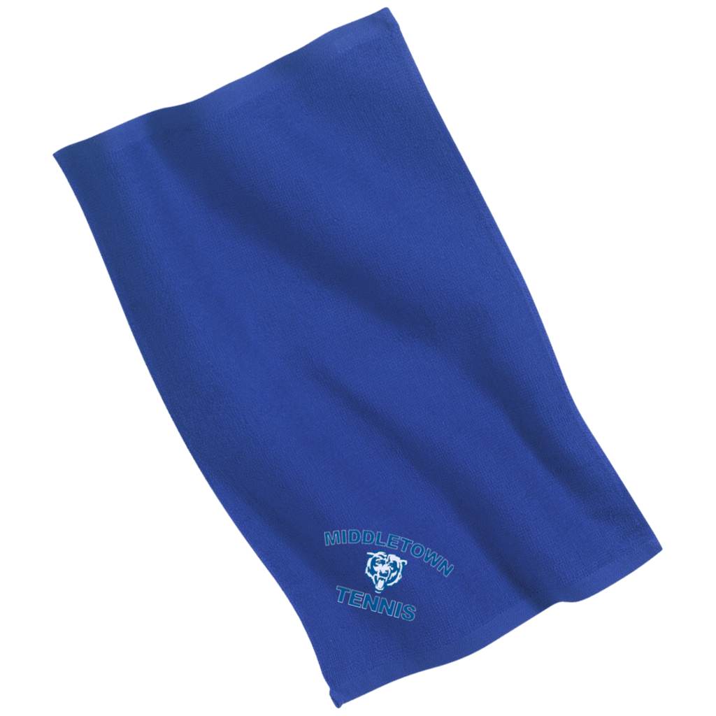 Rally Towel - Middletown Tennis - Bear Logo