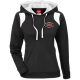 Women's Colorblock Hooded Sweatshirt - Corinth Football