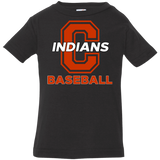 Infant T-Shirt - Cambridge Baseball - C Logo