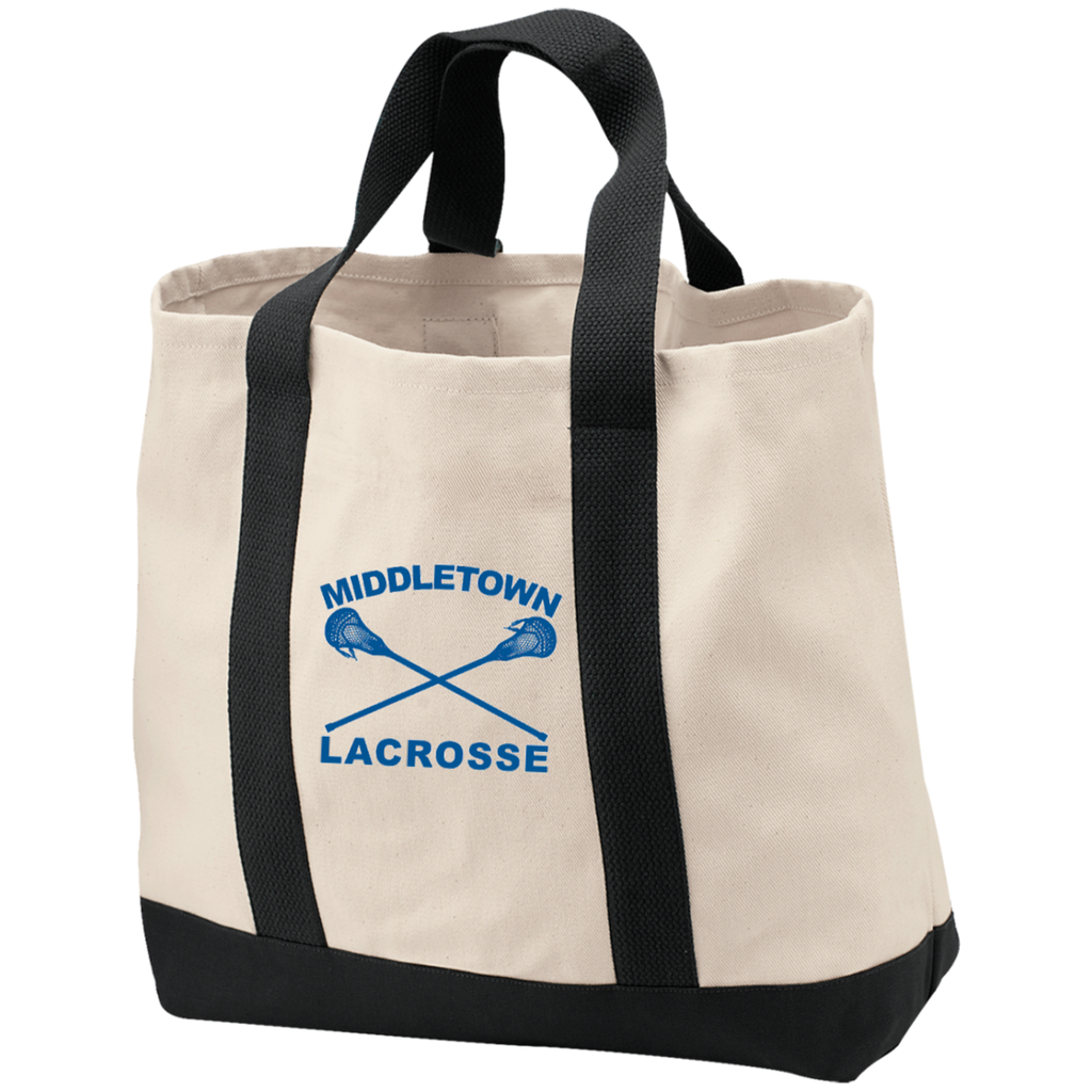 Tote Bag - Middletown Girls Lacrosse - Sticks Logo