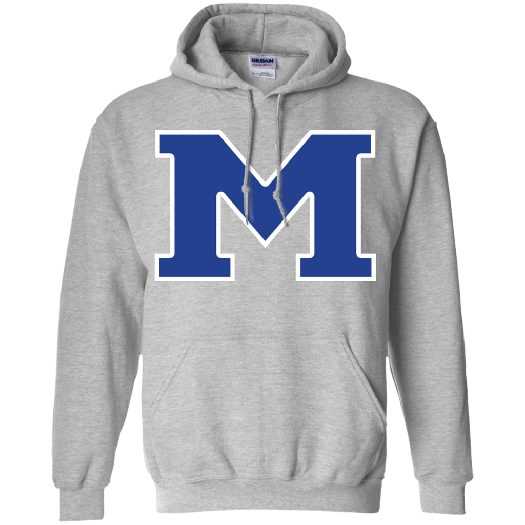 "Men's Hooded Sweatshirt - Middletown Block ""M"""