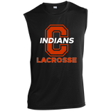 Sleeveless Performance T-Shirt - Cambridge Lacrosse - C Logo