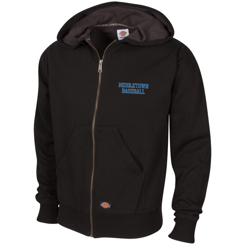 Thermal Fleece Hooded Sweatshirt - Middletown Baseball