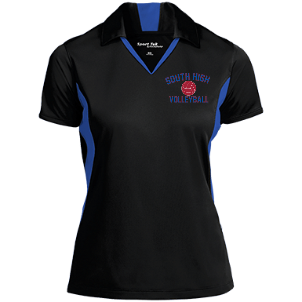 Women's Moisture Wicking Polo - South Glens Falls Volleyball