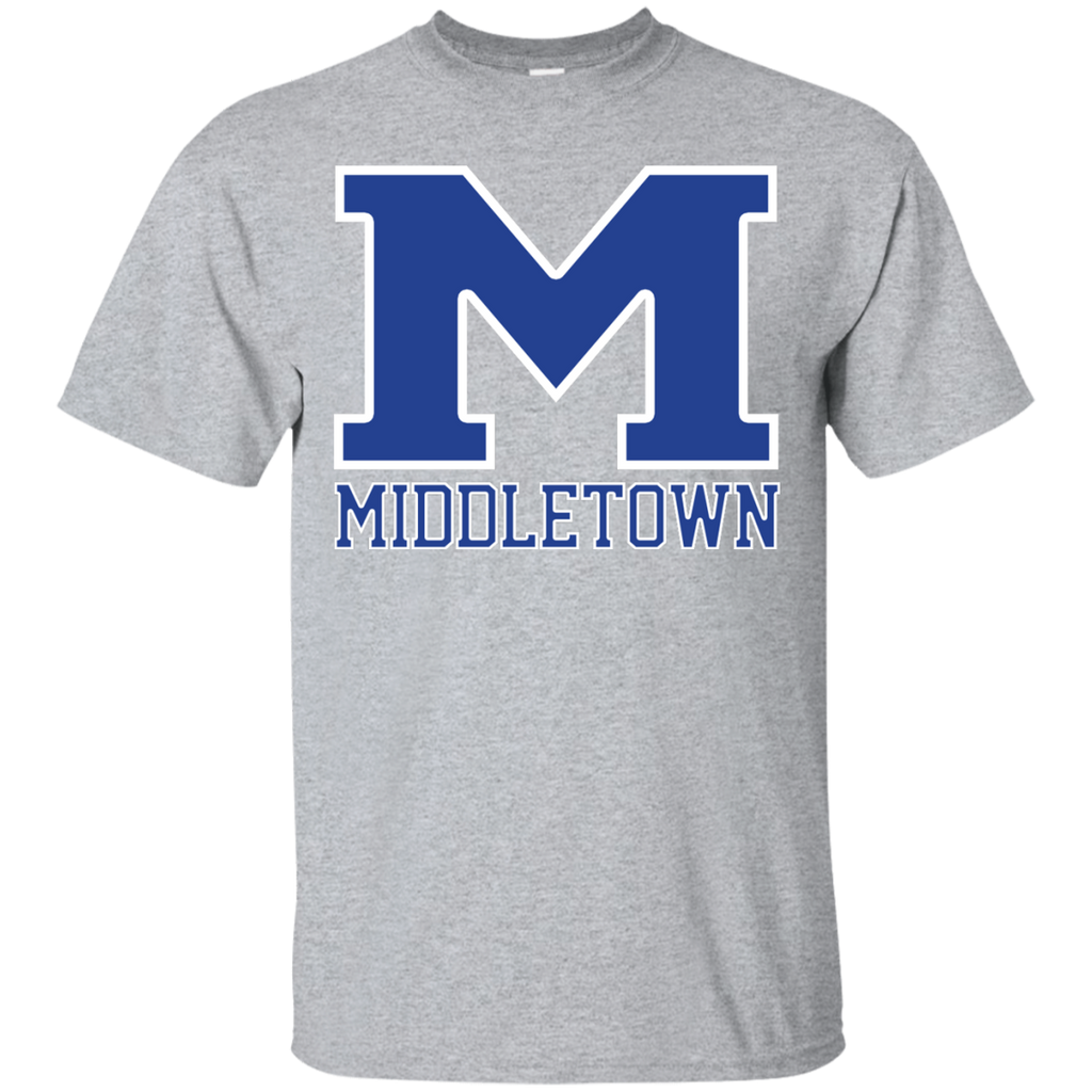 "Men's Cotton T-Shirt - Middletown ""M"""
